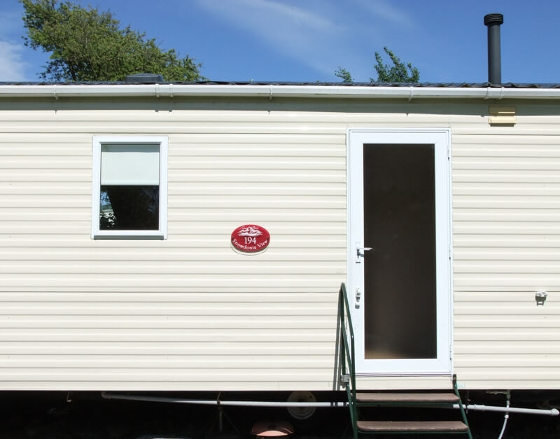 Signs for caravans and holiday homes