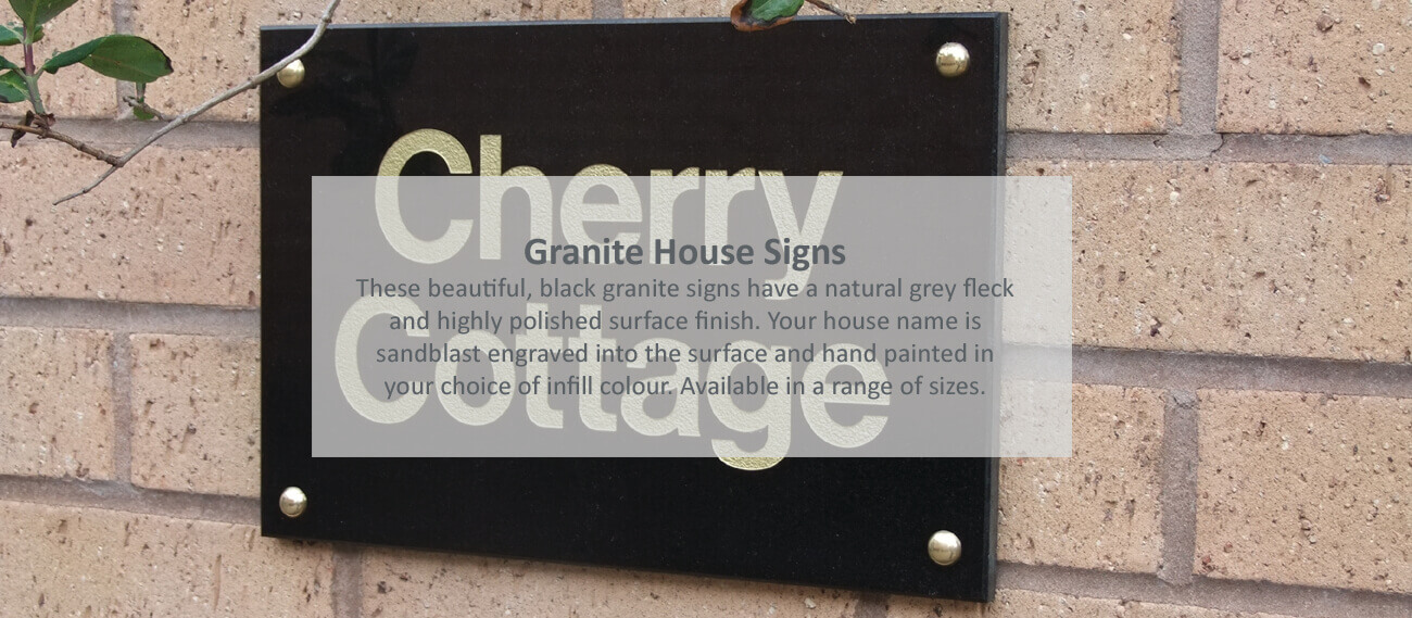 Granite House Signs