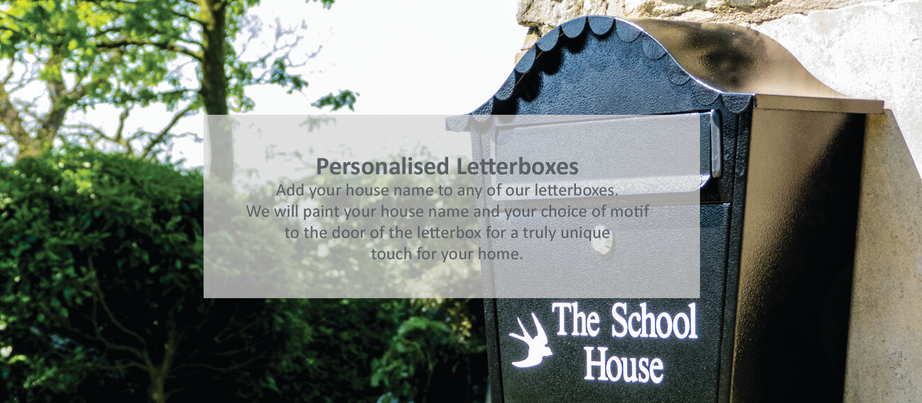 Personalised letterboxes