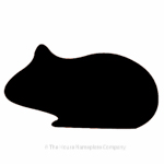 guinea pig image for house sign