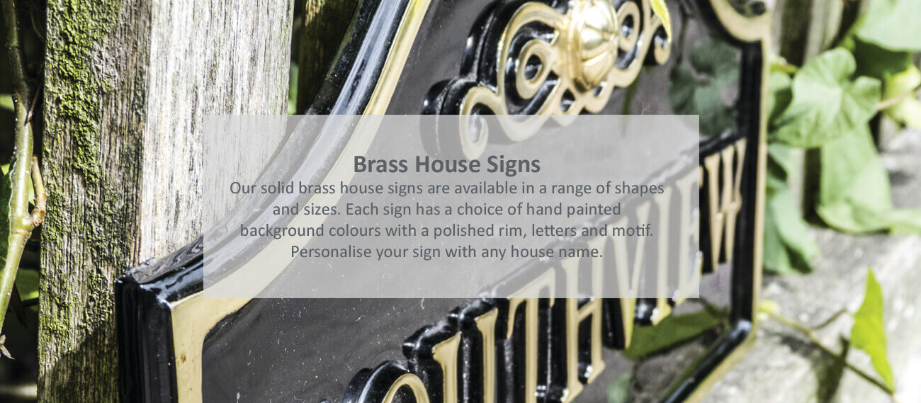 House Signs lovingly handcrafted in North Wales - click to shop
