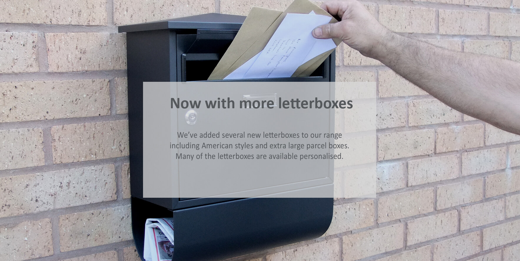 Letterboxes and postboxes - click to shop