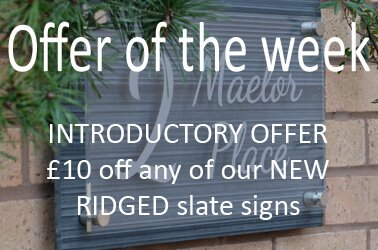 Offers on house signs and numbers