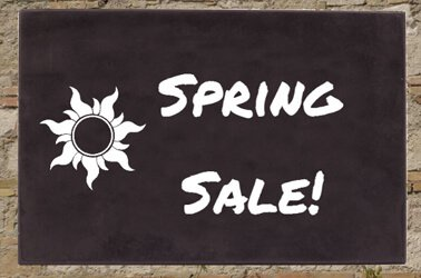 Spring sale - house signs and numbers