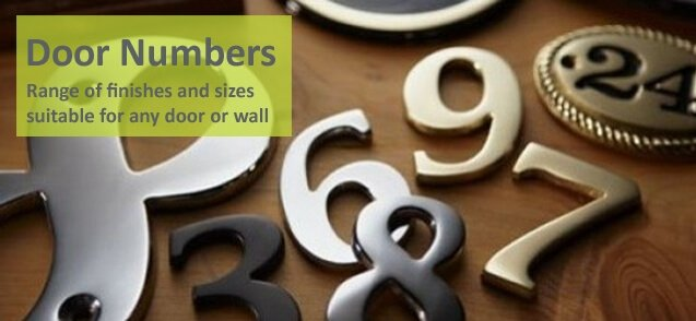 Individual acrylic house numbers - click to shop