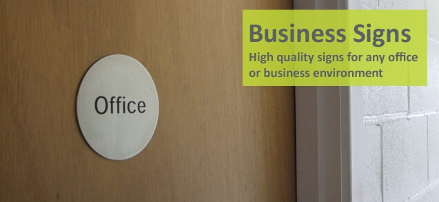 Stainless Steel Office Signs