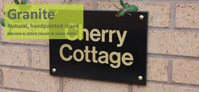 Granite House Signs