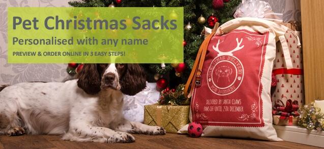 Christmas Sacks for Pets