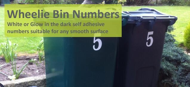 Wheelie Bin Numbers