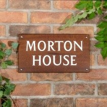 House Signs Numbers And Letterboxes From The House Nameplate Company