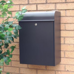 Parcel Letterbox post box for multiple deliveries of letters and parcels