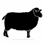 Sheep image for house signs