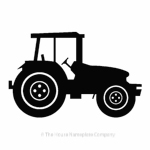 Tractor image for house signs