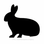 Rabbit image for house signs