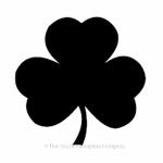 Irish shamrock for house sign