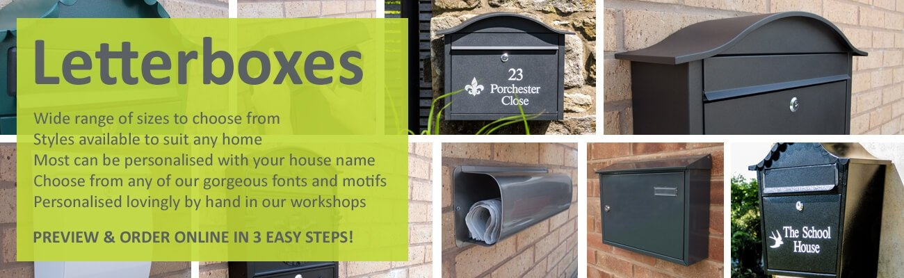 Ordering your letterbox is easy