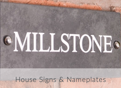 House Signs and Nameplates