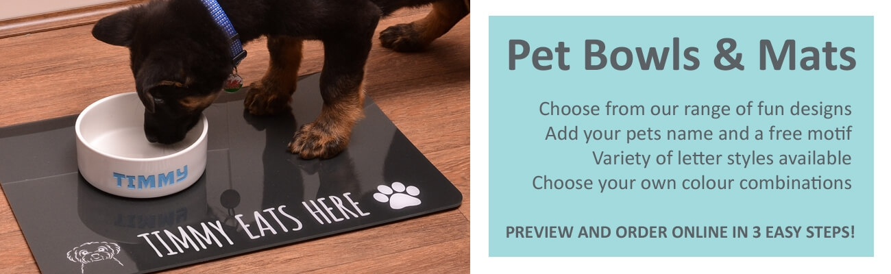 Personalised Pet Products by Pets Made Personal