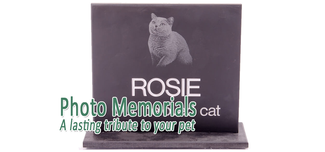 Photo memorials from Remember Your Pet
