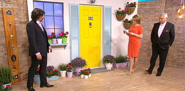 Laurence Llewelyn-Bowen talks about kerb side appeal on This Morning