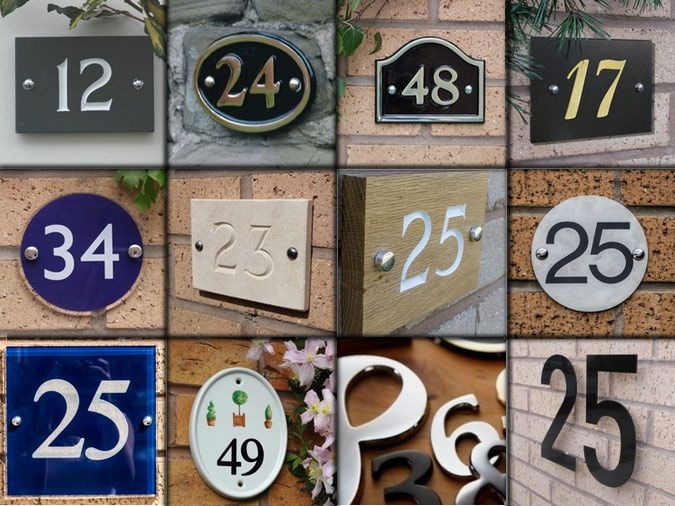 house numbers news from the house nameplate company