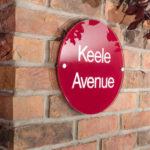 Acrylic House Sign