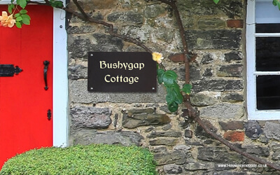 Funny House Names - Bushygap Cottage