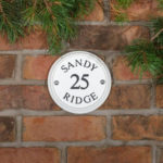 How to change your house name - Ceramic House sign