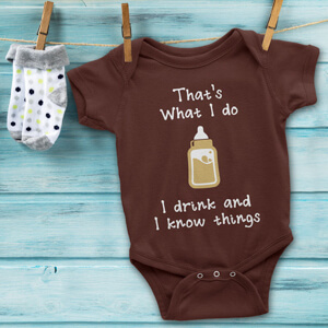 Game of Thrones gifts baby vest