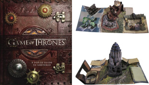 20.Game of Thrones: A Pop-up Guide to Westeros (Hardcover.)