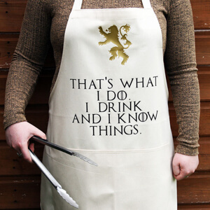 Game of Thrones cooking apron