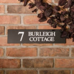 How to change your house name - Granite House sign