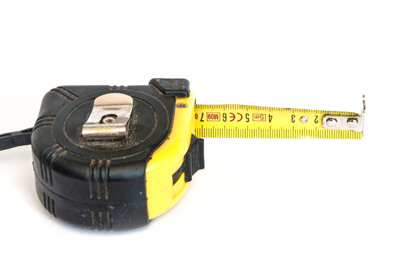 Choosing a house sign - Tape Measure