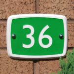 rectangle green ceramic