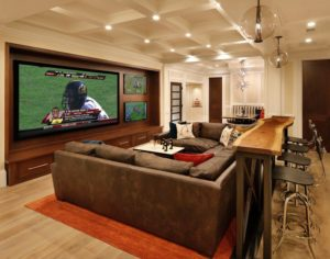 Huge screen for your man cave