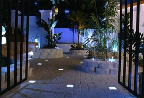 Tile lights news from the house nameplate company for Garden decking lights uk