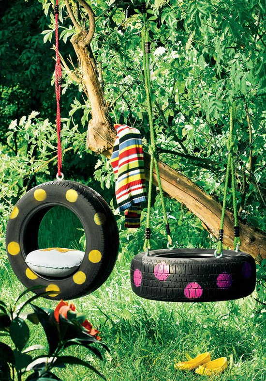 10 Ways to make your home Eco-friendly: tyre swings